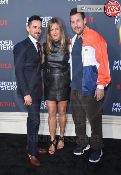 Luis Gerardo Mendez, Adam Sandler, Jennifer Aniston - Westwood - 10-06-2019 - Adam Sandler e Jennifer Aniston ancora insieme!