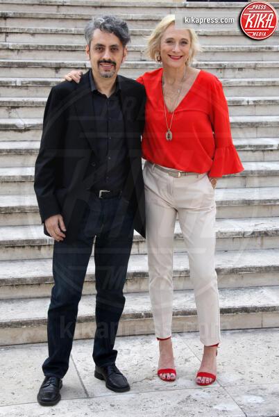 Massimo Coglitore, Caroline Goodall - Roma - 11-06-2019 - The Elevator: il photocall con Caroline Goodall