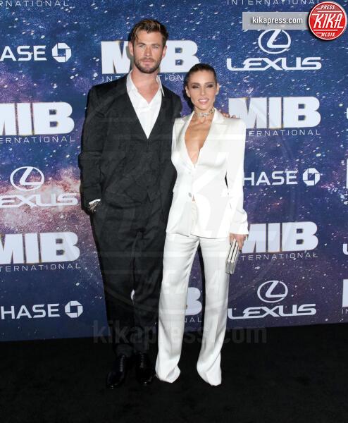 Chris Hemsworth, Elsa Pataky - New York - 11-06-2019 - I Men In Black sono tornati: dal 25 luglio al cinema!
