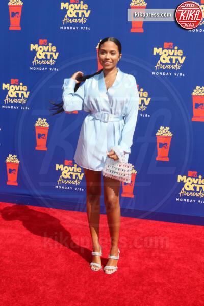 Cheyenne Floyd - Santa Monica - 15-06-2019 - Jada Pinkett-Smith, smoking argento a MTV Movie & TV Awards
