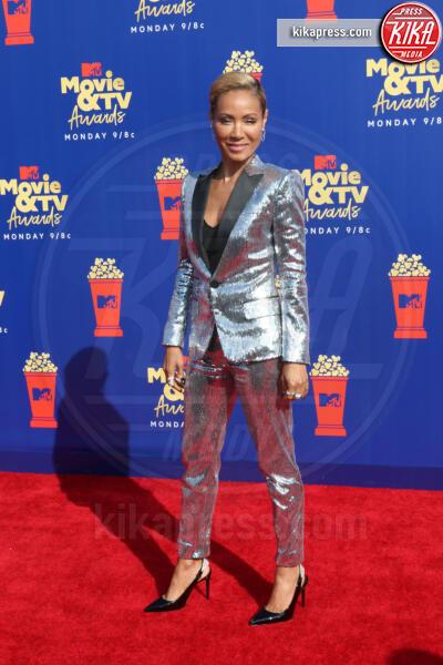 Jada Pinkett Smith - Santa Monica - 15-06-2019 - Jada Pinkett-Smith, smoking argento a MTV Movie & TV Awards