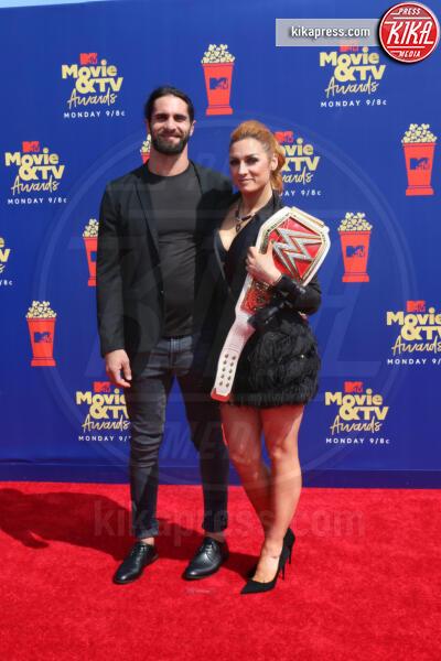 Becky Lynch, Seth Rollins - Santa Monica - 15-06-2019 - Jada Pinkett-Smith, smoking argento a MTV Movie & TV Awards