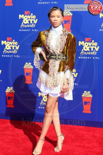 Storm Reid - Santa Monica - 15-06-2019 - Jada Pinkett-Smith, smoking argento a MTV Movie & TV Awards