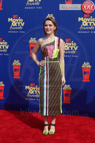 Kiernan Shipka - Santa Monica - 15-06-2019 - Jada Pinkett-Smith, smoking argento a MTV Movie & TV Awards