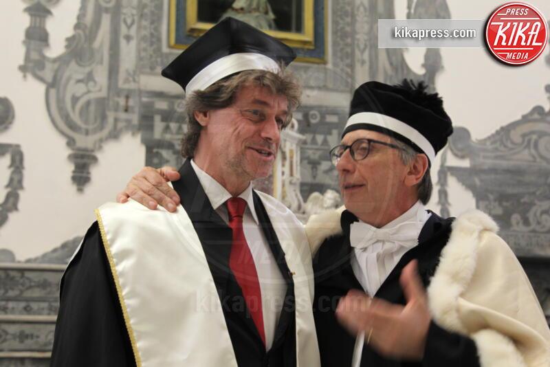 Lucio D'Alessandro, Alberto Angela - Napoli - 25-06-2019 - Napoli, per Alberto Angela laurea honoris causa in Archeologia