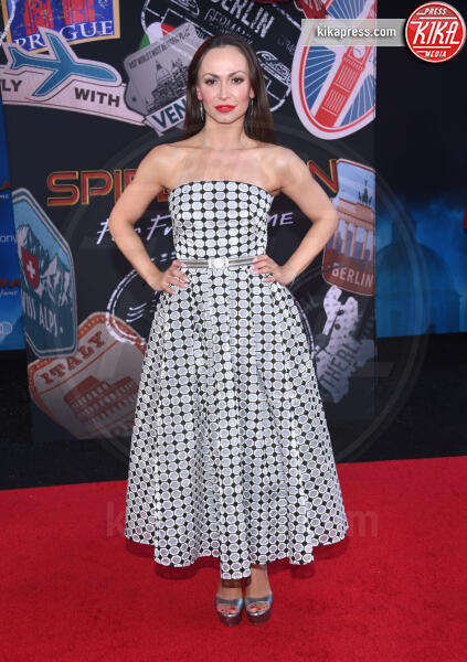 Karina Smirnoff - Hollywood - 26-06-2019 - Spiderman far from home: la premiere mondiale al Chinese Theatre