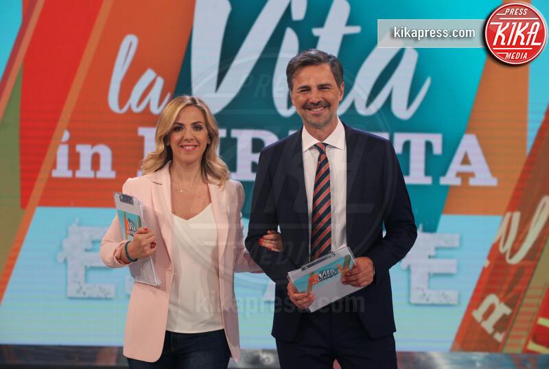 Lisa Marzoli, Beppe Convertini - Roma - 27-06-2019 - Beppe Convertini-Lisa Marzoli, che coppia a La Vita in Diretta!
