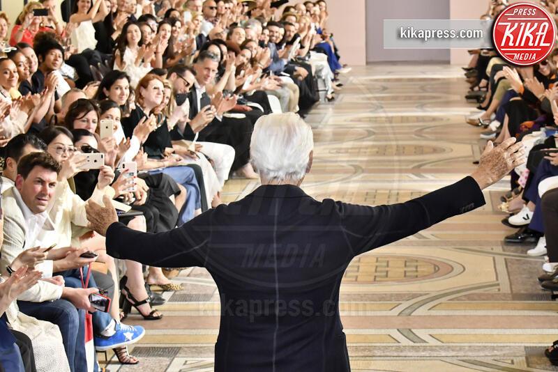 Giorgio Armani - Parigi - 02-07-2019 - Parigi Fashion Week, il trionfo di Giorgio Armani