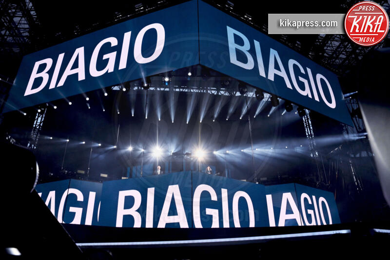 Biagio Antonacci, Laura Pausini - Milano - 04-07-2019 - San Siro ai piedi di Laura Pausini e Biagio Antonacci