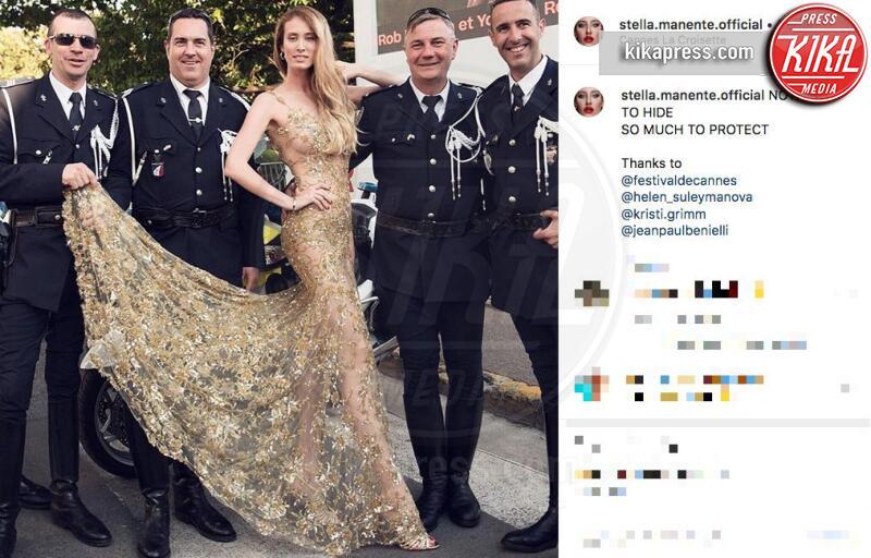 Stella Manente - Cannes - 05-07-2019 - Stella Manente contro tutti: dopo il gay pride anche i francesi!