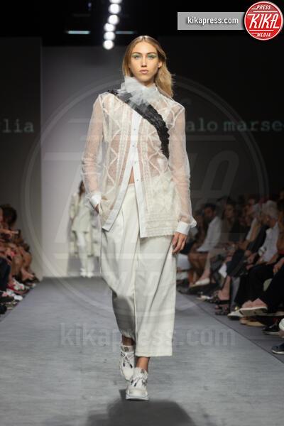 Sfilata Italo Marseglia, Modella - Roma - 06-07-2019 - Altaroma: la sfilata di Italo Marseglia