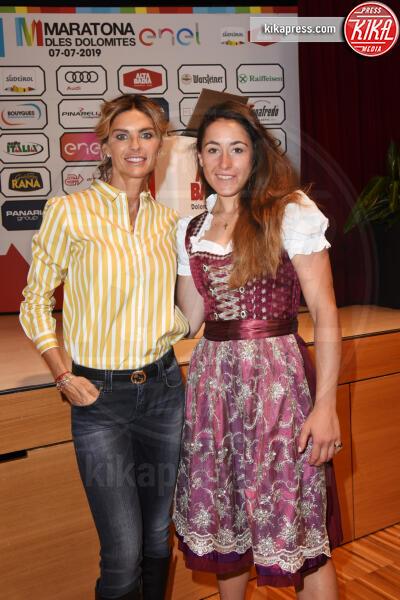 Sofia Goggia, Martina Colombari - Corvara in Badia - 06-07-2019 - Martina Colombari, madrina della Maratona dles Dolomites