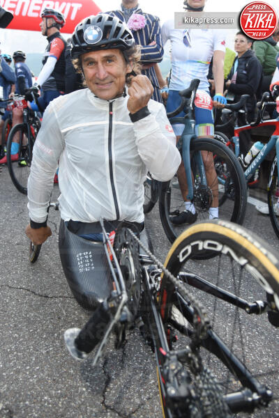 Alex Zanardi - Corvara in Badia - 07-07-2019 - Martina Colombari, madrina della Maratona dles Dolomites