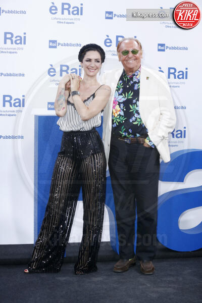 Andrea Delogu, Renzo Arbore - Milano - 09-07-2019 - Palinsesti Rai: via la Clerici, torna Lorella Cuccarini