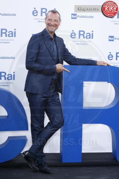 Amadeus - Milano - 09-07-2019 - Palinsesti Rai: via la Clerici, torna Lorella Cuccarini