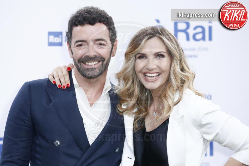 Alberto Matano, Lorella Cuccarini - Milano - 09-07-2019 - Palinsesti Rai: via la Clerici, torna Lorella Cuccarini