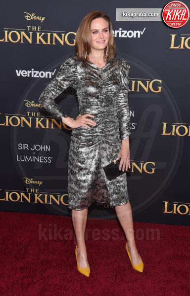 Emily Deschanel - Hollywood - 09-07-2019 - Regina Beyoncé sul red carpet del Re Leone