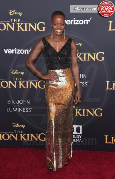 Florence Kasumba - Hollywood - 09-07-2019 - Regina Beyoncé sul red carpet del Re Leone