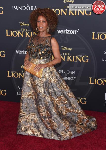 Alfre Woodard - Hollywood - 09-07-2019 - Regina Beyoncé sul red carpet del Re Leone