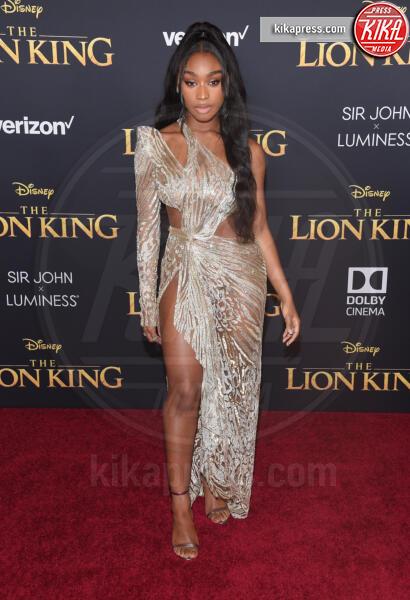 Normani - Hollywood - 09-07-2019 - Regina Beyoncé sul red carpet del Re Leone