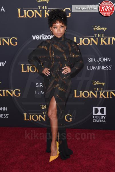 Logan Browning - Hollywood - 09-07-2019 - Regina Beyoncé sul red carpet del Re Leone