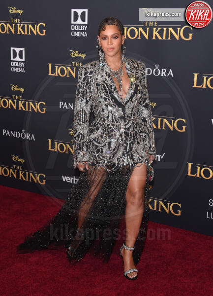 Beyonce Knowles - Hollywood - 09-07-2019 - Regina Beyoncé sul red carpet del Re Leone