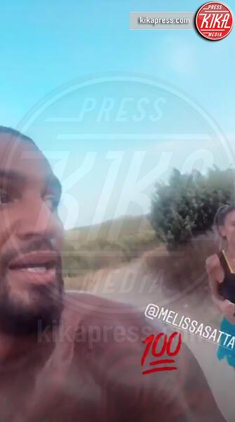 Kevin-Prince Boateng, Melissa Satta - Ibiza - 10-07-2019 - Rebus Satteng, l'appuntamento a cena fa sognare