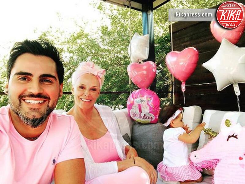 Frida Dessi, Mattia Dessi, Brigitte Nielsen - Los Angeles - 11-07-2019 - Mamme negli anta: anche Stefania Orlando vuole entrare nel club