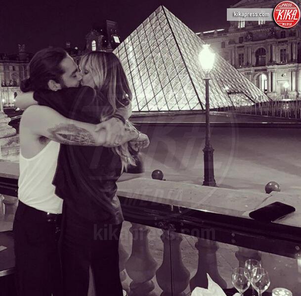 Tom Kaulitz, Heidi Klum - Parigi - 12-07-2019 - Heidi Klum e Tom Kaulitz sono marito e moglie