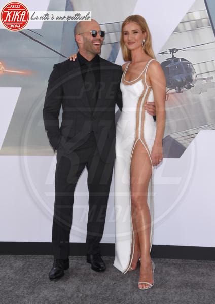 Rosie Huntington-Whiteley, Jason Statham - Hollywood - 31-12-2013 - Fast & Furious Presents: Hobbs and Shaw, la premiere mondiale