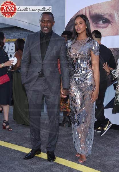 Sabrina Dhowre, Idris Elba - Hollywood - 31-12-2013 - Fast & Furious Presents: Hobbs and Shaw, la premiere mondiale