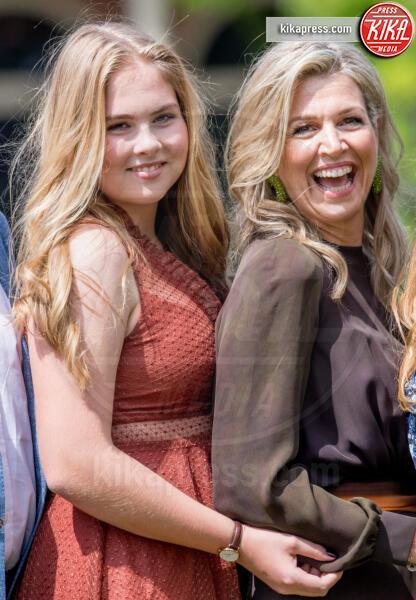 Principessa Amalia Orange-Nassau, Regina Maxima d'Olanda - The Hague - 19-07-2019 - Principesse adolescenti sui troni d'Europa: le riconoscete?