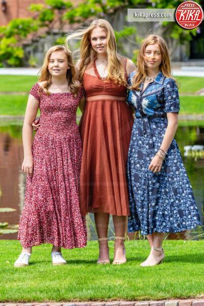 Principessa Amalia Orange-Nassau, Alexia Orange-Nassau, principessa Ariane - The Hague - 19-07-2019 - Principesse adolescenti sui troni d'Europa: le riconoscete?