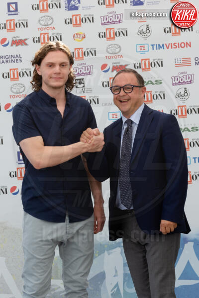 Evan Peters - Giffoni - 23-07-2019 - Giffoni 2019, Evan Peters entusiasta: