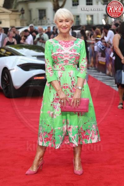 Helen Mirren - Londra - 23-07-2019 - Helen Mirren in verde sul red carpet di Fast and Furious