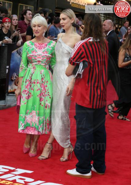 Vanessa Kirby, Helen Mirren - Londra - 23-07-2019 - Helen Mirren in verde sul red carpet di Fast and Furious