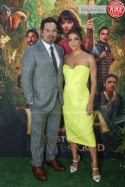 Michael Pena, Eva Longoria - Los Angeles - 28-07-2019 - Dora and the Lost City of Gold, la premiere californiana