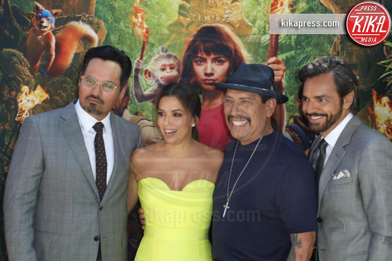 Eugenio Derbez, Danny Trejo, Michael Pena, Eva Longoria - Los Angeles - 28-07-2019 - Dora and the Lost City of Gold, la premiere californiana