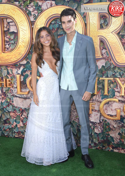 Jeff Wahlberg, Isabela Moner - Los Angeles - 15-01-2014 - Dora and the Lost City of Gold, la premiere californiana