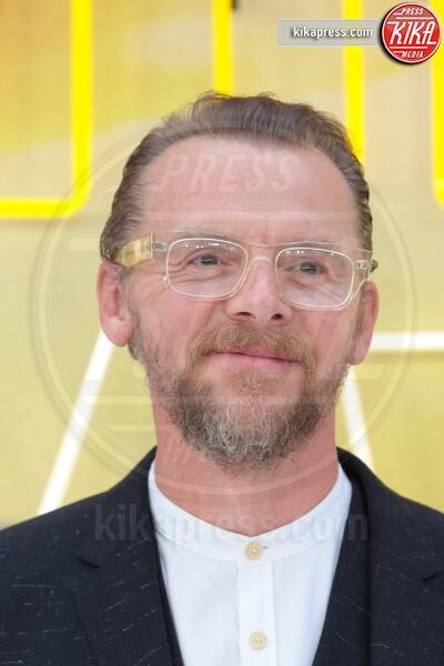 Simon Pegg - Londra - 30-07-2019 - C'era una volta a Hollywood, Margot Robbie in Oscar de la Renta