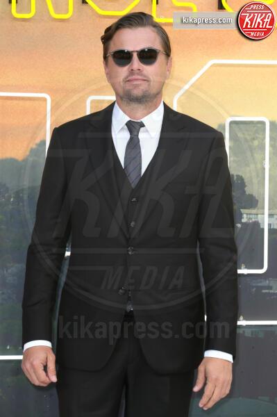 Leonardo DiCaprio - Londra - 30-07-2019 - C'era una volta a Hollywood, Margot Robbie in Oscar de la Renta