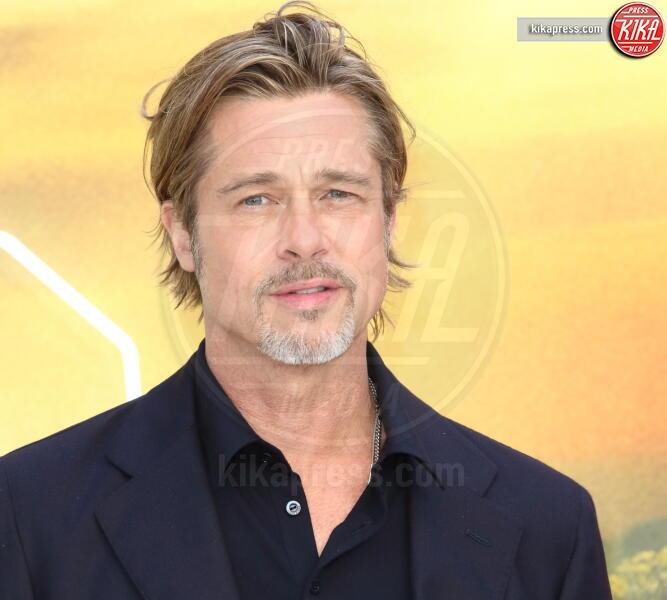 Brad Pitt - Londra - 30-07-2019 - C'era una volta a Hollywood, Margot Robbie in Oscar de la Renta
