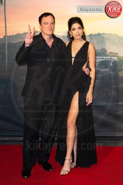 Daniela Pick, Quentin Tarantino - Roma - 03-08-2019 - Roma ai piedi di Tarantino e Once Upon a Time… in Hollywood