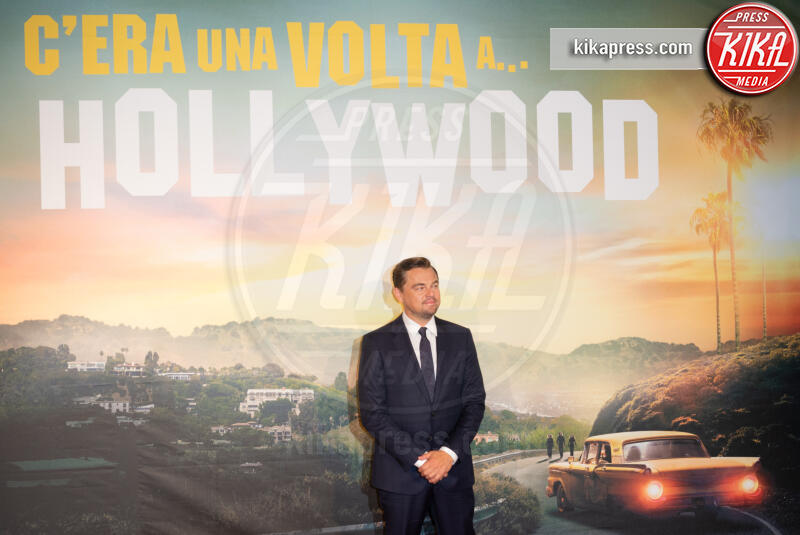 Leonardo Di Caprio - Roma - 03-08-2019 - Roma ai piedi di Tarantino e Once Upon a Time… in Hollywood