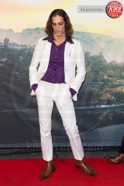 Damiano David - Roma - 03-08-2019 - Roma ai piedi di Tarantino e Once Upon a Time… in Hollywood