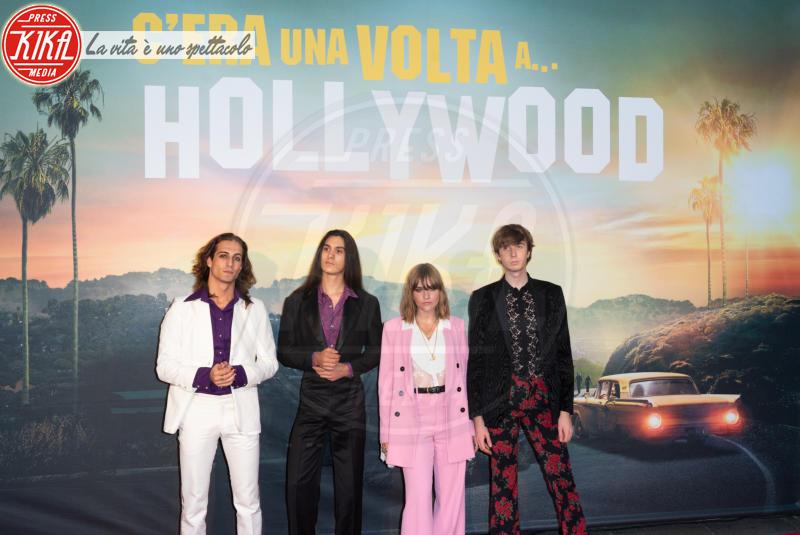 Maneskin - Roma - 03-08-2019 - Roma ai piedi di Tarantino e Once Upon a Time… in Hollywood