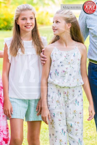 Principessa Sofia di Borbone, Principessa Leonor di Borbone - Mallorca - 04-08-2019 - I Reali di Spagna vanno in vacanza: le foto di rito