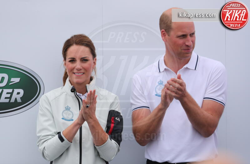 Principe William, Kate Middleton - Isle Of Wight - 08-08-2019 - Baby George, mozzo o capitano alla regata King's Cup?