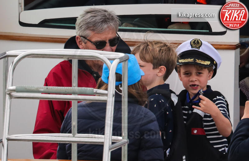 Principe George, Michael Middleton - Isle Of Wight - 08-08-2019 - Baby George, mozzo o capitano alla regata King's Cup?