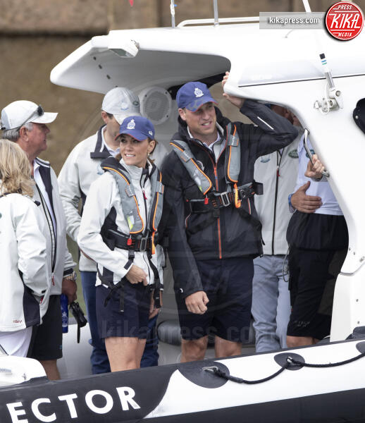 Principe William, Kate Middleton - Isola di Wight - 08-08-2019 - Baby George, mozzo o capitano alla regata King's Cup?
